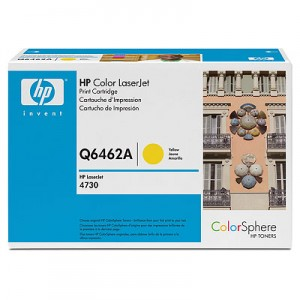 poza Cartus toner HP CM4730, Q6462A Yellow