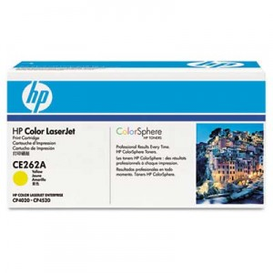 poza Cartus toner HP CP4525, CE262A Yellow