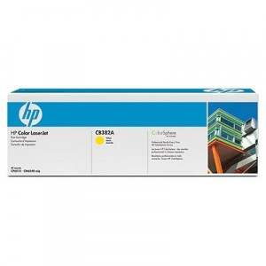 poza Cartus toner HP CP6015, CB382A Yellow