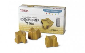 poza Genuine Xerox solid ink yellow, Phaser 8560