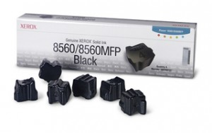 poza Genuine Xerox solid ink black (6), Phaser 8560