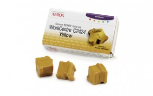 poza Genuine Xerox solid ink yellow, WorkCentre 2424